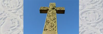 Halton Memorial Cross To Size